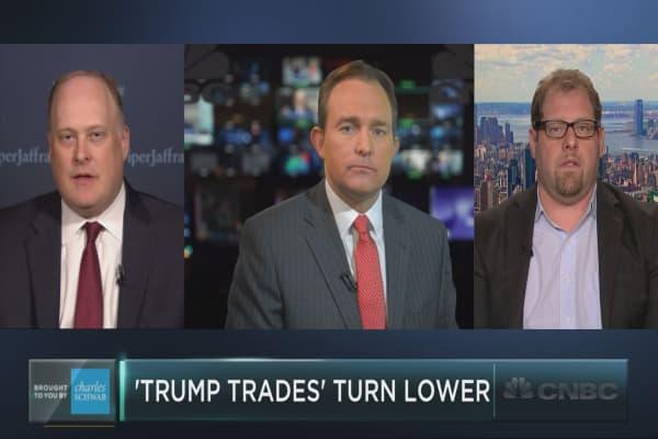 Trump trades fading fast?