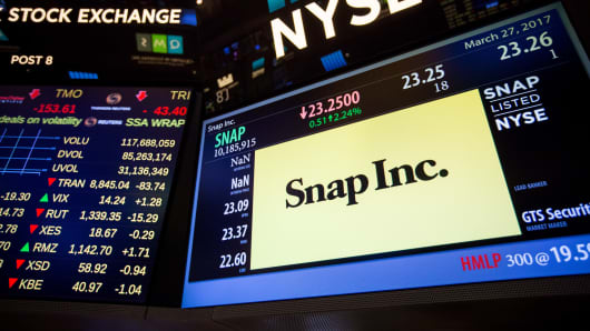 Stocks making the biggest moves after hours: Snap, eBay, Texas Instruments and more