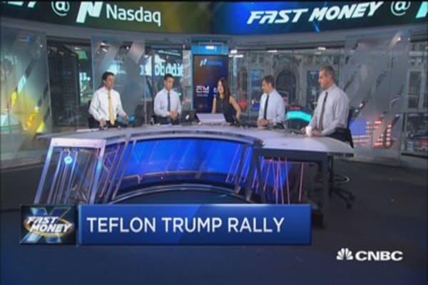 Teflon Trump rally?