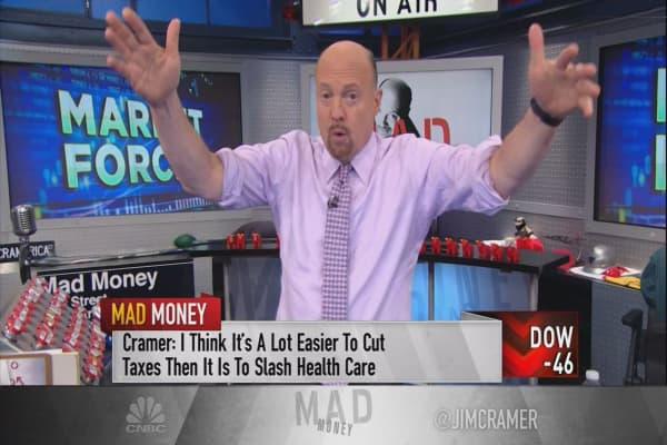 Cramer: 3 reasons why the market didn't crash on GOP health-care bill's failure