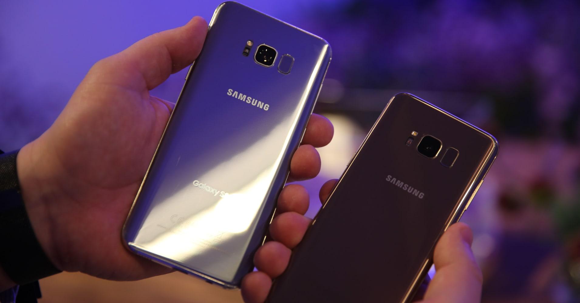 CNBC: Galaxy S8 3