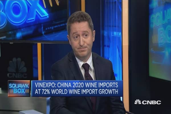 China's growing wine market