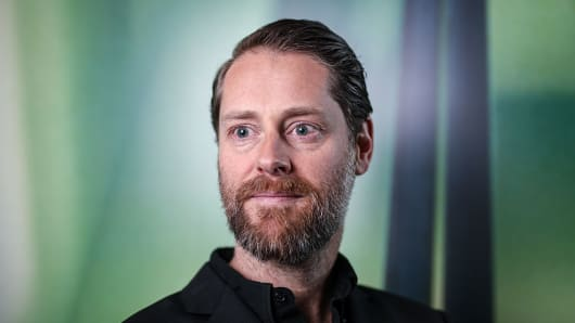 Ryan Holmes, chief executive officer of Hootsuite Media.