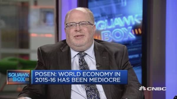 Europe will see a boom, US unsistainable growth: Posen