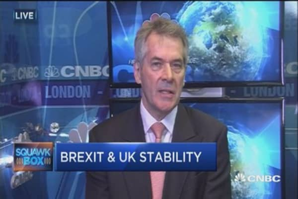 Fmr. UK ambassador to US: Two worries on the risks of Brexit