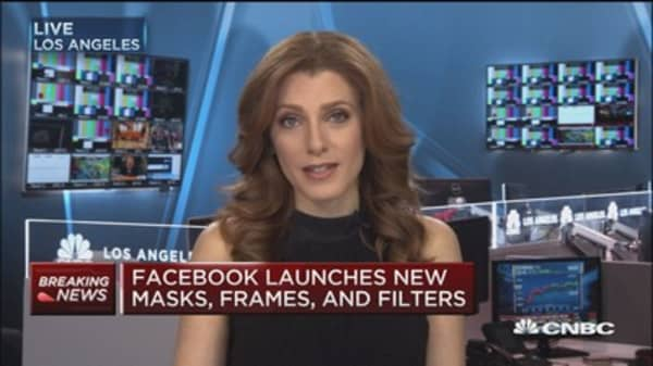 Facebook launches new camera tools