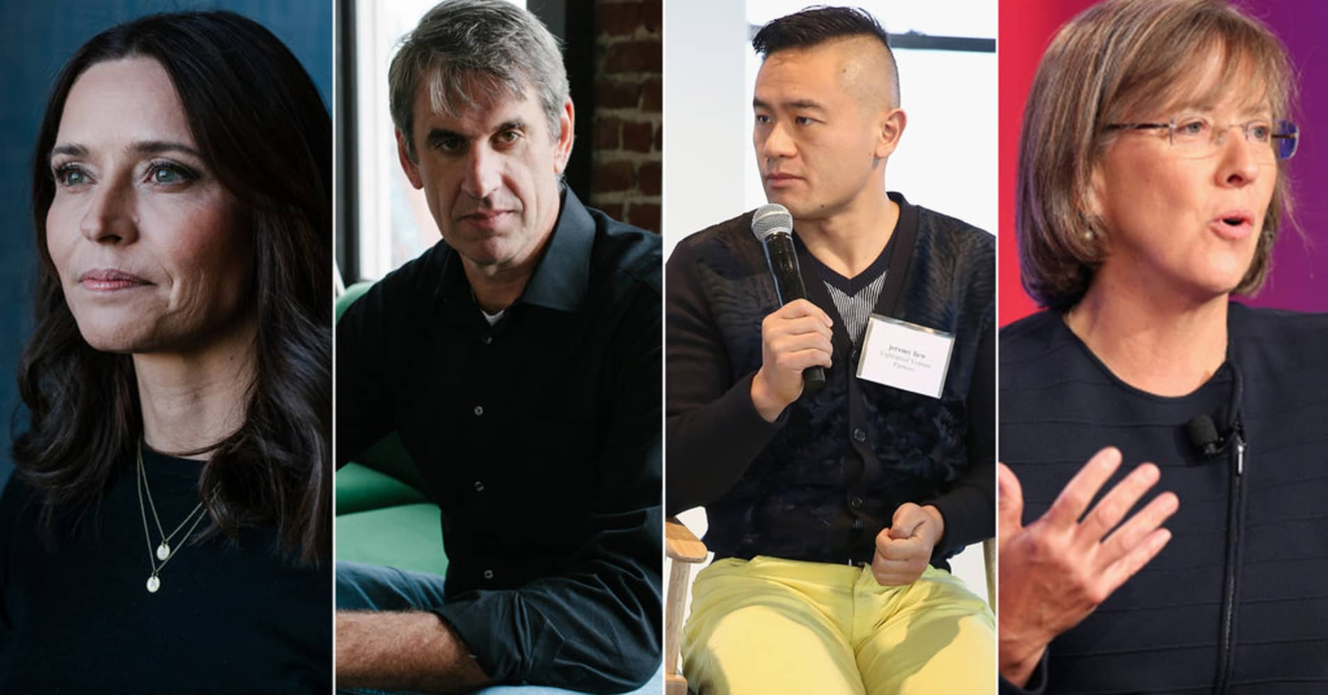 Kirsten Green, Bill Gurley, Jeremy Liew and Mary Meeker.