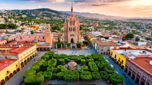 San Miguel de Allende in Mexico.