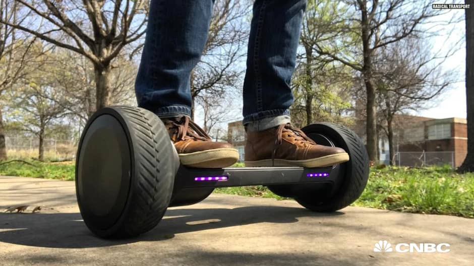 Mark Cuban's hoverboard company is launching on Kickstarter in April