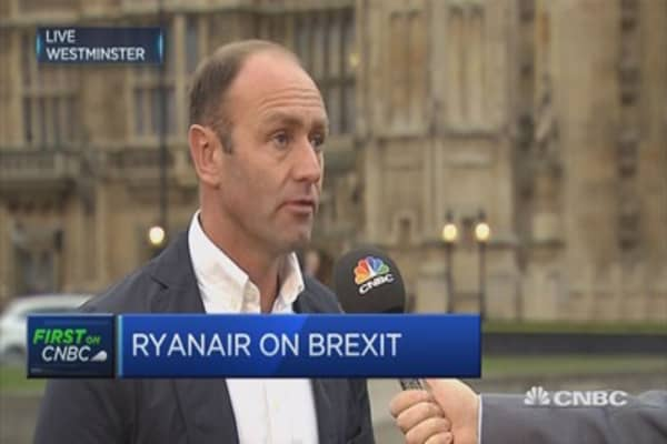 Brexit could mean no flights from the UK to Europe: Ryanair CMO