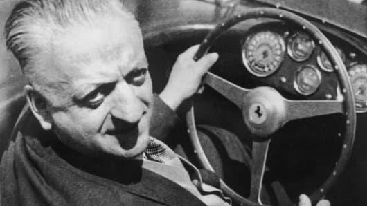 Enzo Ferrari in 1964.
