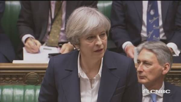 Article 50 letter delivered, there is no turning back: UK PM May