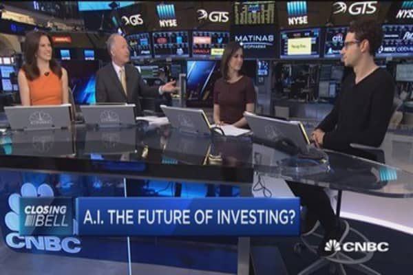 Robots take on Wall Street