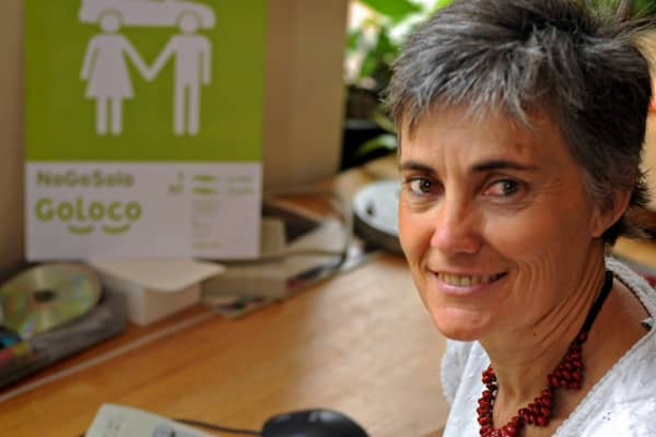 Robin Chase, co-founder and former CEO of Zipcar.