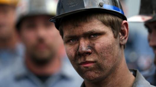 A coal miner in Ohio.