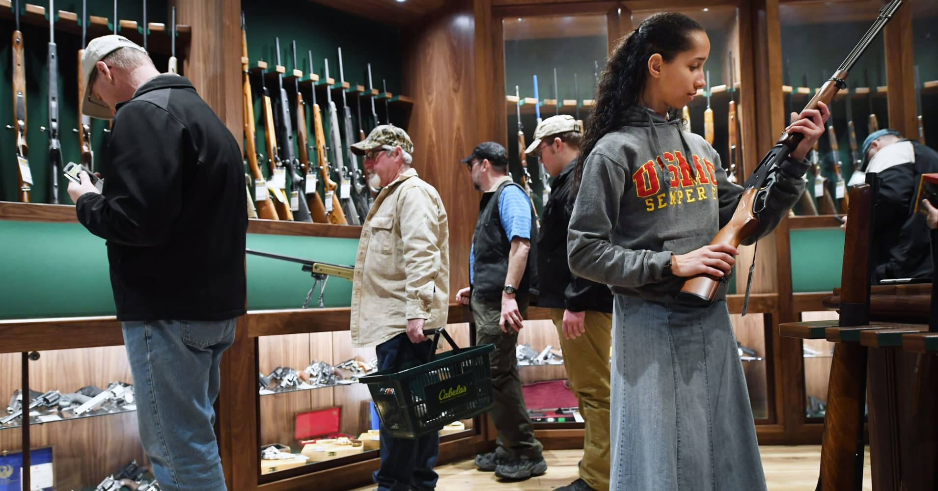 Goldman Sachs' funding in a gun retailer places it in an ungainly place