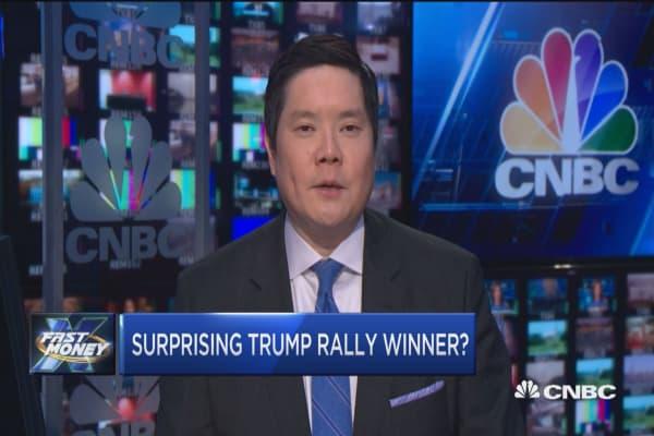 Surprising Trump rally winner?