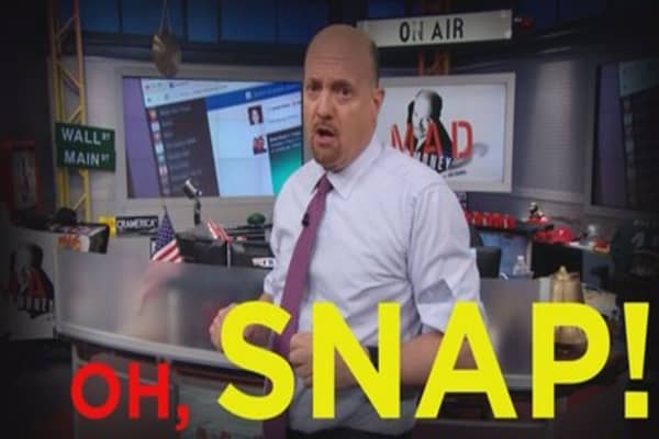 Cramer Remix: How Facebook and Snap are preparing for a social media showdown