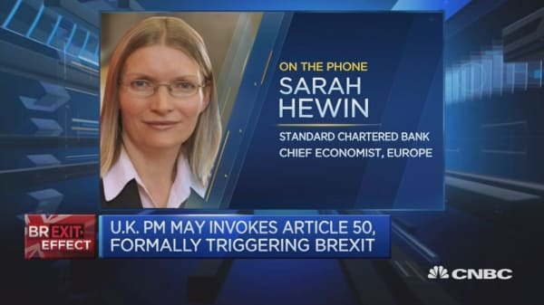 'Unlikely' that Brexit trade deal will be done in 2 years