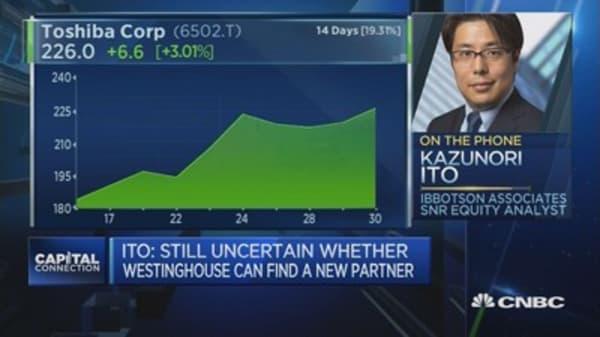 Toshiba loss will reach 1.01 trillion yen
