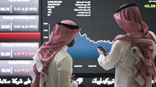 The Saudi Stock Exchange.