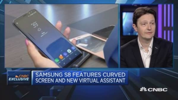 S8 launch a milestone in smartphone evolution for us