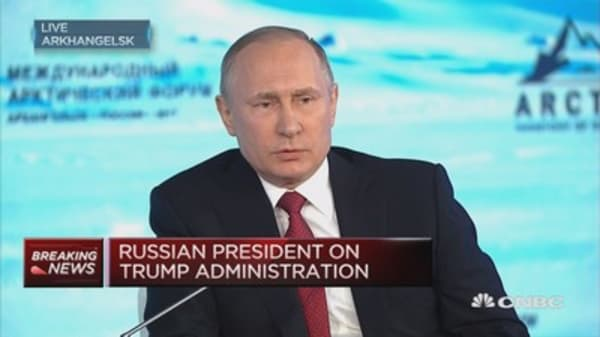 Opponents of climate change may not be at all silly: Putin