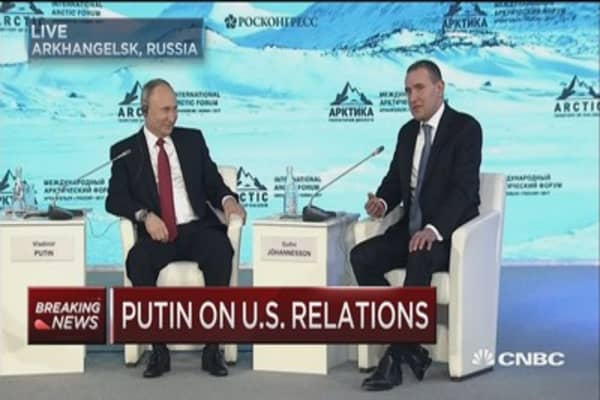 Anti-Russian card played by forces within the US: Putin