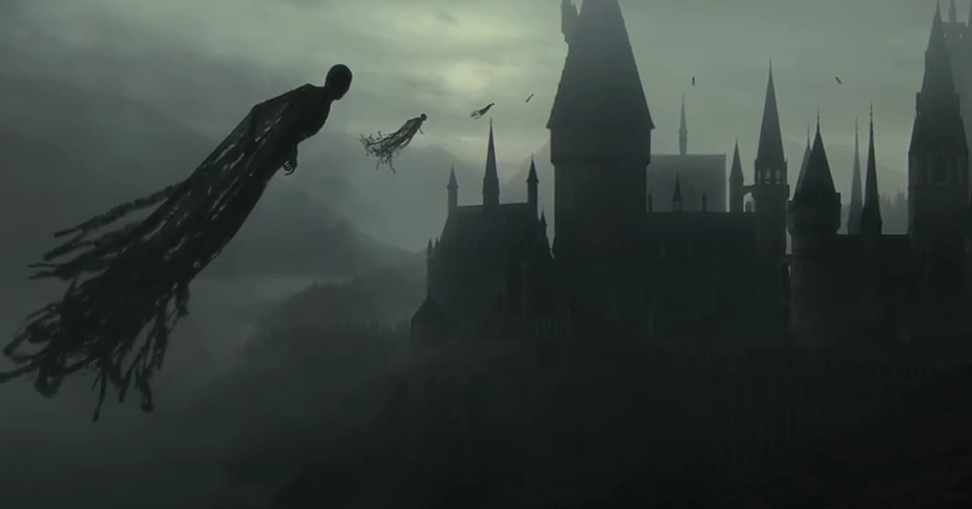 Dementors from the Harry Potter films.