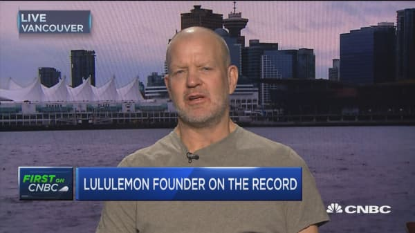 Lululemon founder: What LULU is lacking is a vision