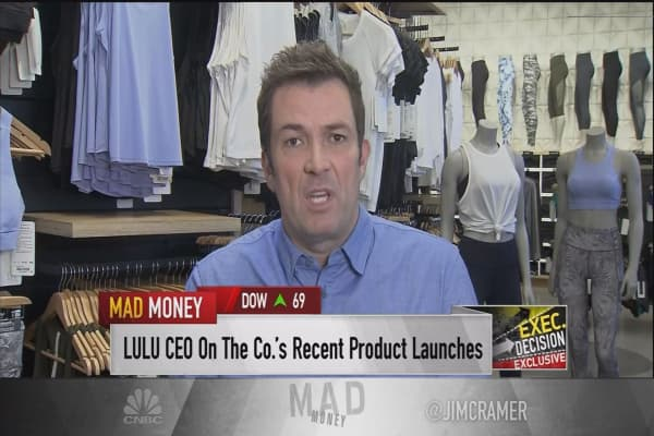 LULU CEO: 'Drastic changes' equal 'instant pickup' in sales