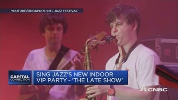 Singapore International Jazz Festival kicks off