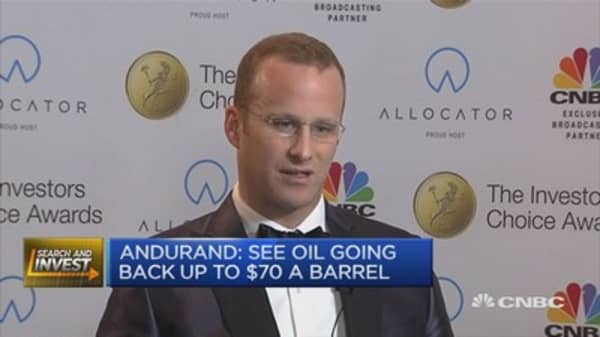 Oil/commodities fund wins at Investors Choice Awards