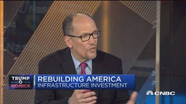 DNC Chair Perez: Infrastructure done right can be win-win