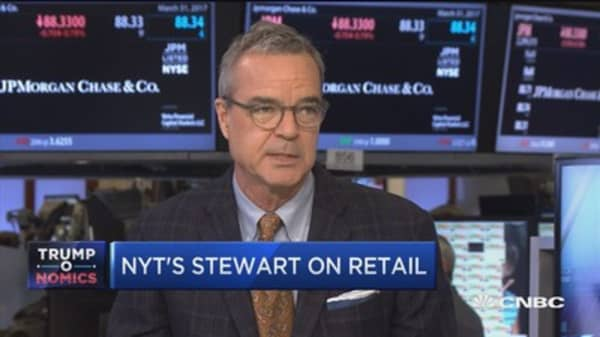 NYT's Stewart on politics, Sears, and retail