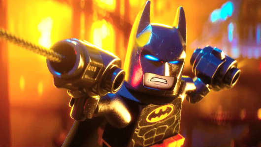 Lego Batman movie.