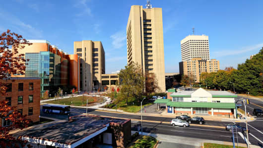 Rockville is a city located in the central region of Montgomery County, Maryland.