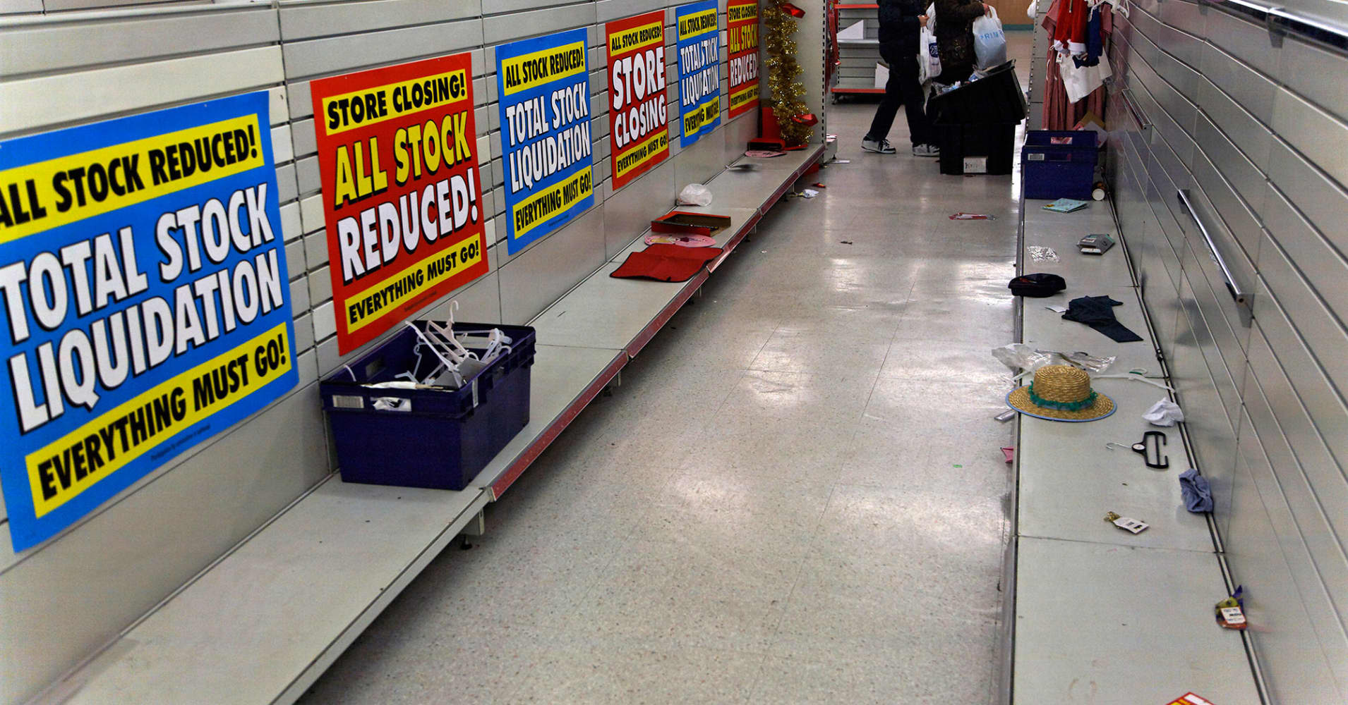 Retail Bankruptcies March Toward Post Recession High