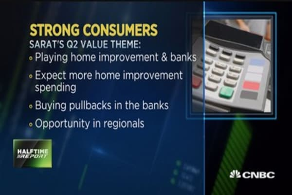 Trader: watch consumer in Q2