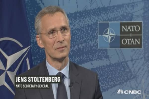 NATO Secretary General Stoltenberg: This is about investing in our 'collective security'