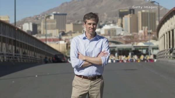 A democratic congressman looks to unseat the republican senator in Texas