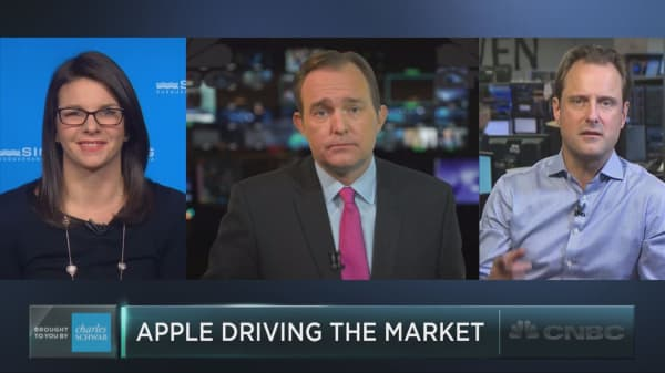 Apple's monster impact on the market