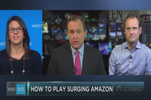 The best way to play Amazon's surge