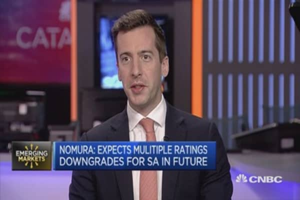 Nomura: Expect Zuma's moves to lead to a profound market shock
