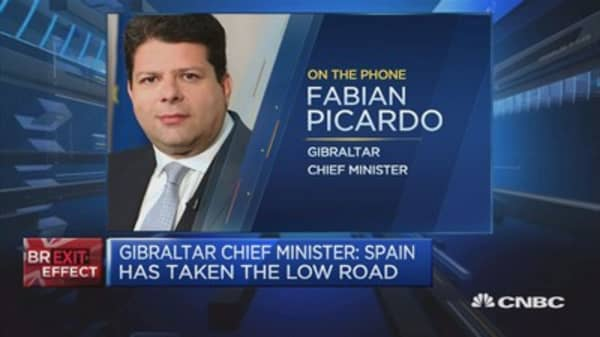 Spain's behavior has been abominable: Gibraltar Chief Minister