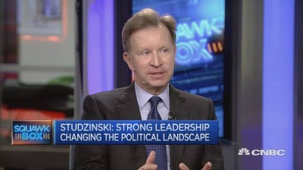 Too many factions within the White House: Studzinski