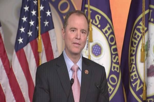 Schiff says Trump wants focus on tweets, not Russia