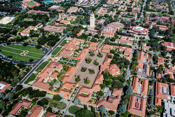Stanford University in Palo Alto, California.