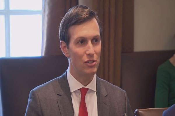 Kushner's new job means he'll be shaping Trump's trillion-dollar plan
