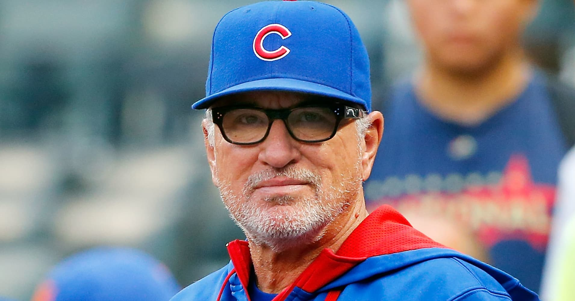 Joe Maddon, manager of the Chicago Cubs